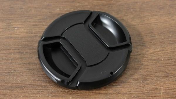 58mm Center Pinch Snap-On Lens Caps for Nikon Canon Sony Fuji DSLR Lenses