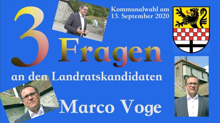 Marco Voge will zuhören und vor Ort sein