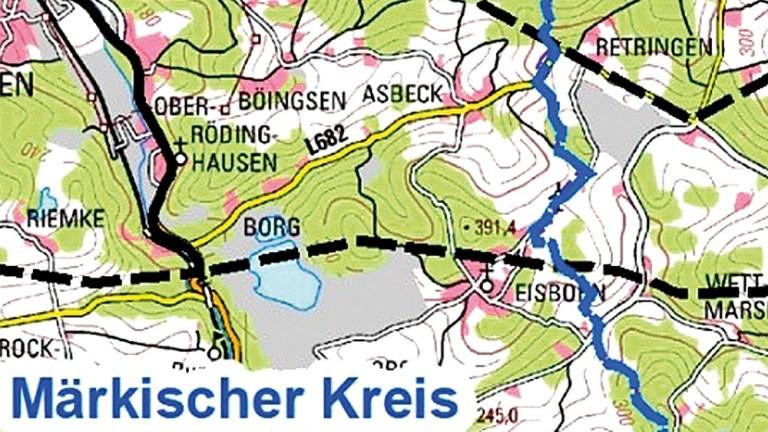 Untersuchungen nahe Eisborn für A46-Trasse