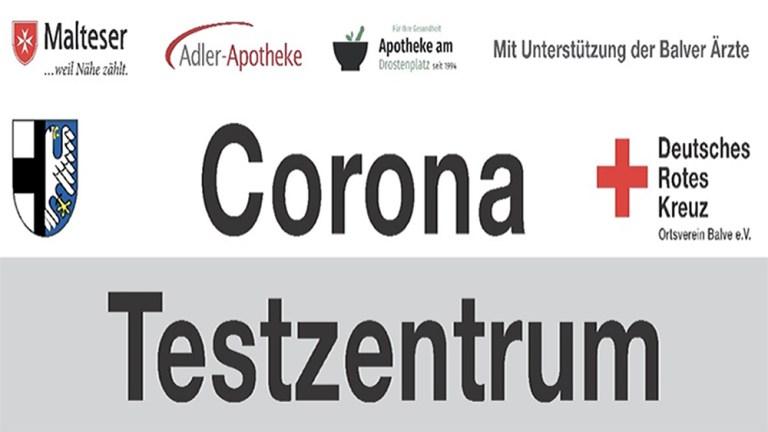 Corona-Tests für kommende Woche eintragen