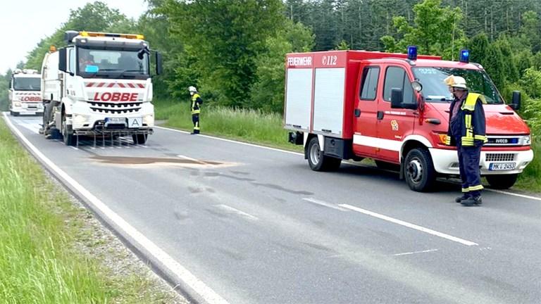 Dieselspur vom Benkamp bis fast nach Garbeck