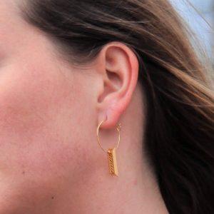 Boucles d'oreilles Henri