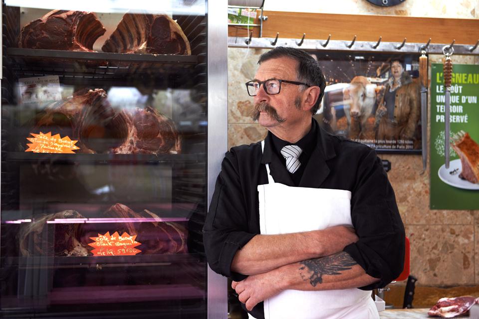 Boucher, Boucherie, Gilles Huet, Quiberon, Morbihan, viande