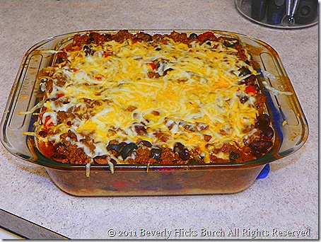 Hot Tamale Pie A