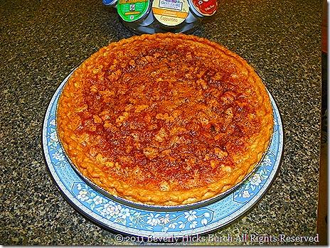 Golden Pecan Pie