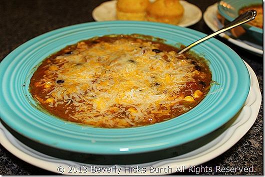 chicken taco soup C