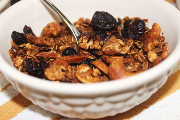 Knock Your Socks Off Granola