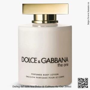 Duong the nuoc hoa Dolce Gabbana the One 200ml 2