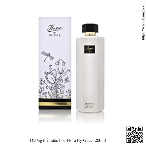 Duong the nuoc hoa Flora By Gucci 200ml 1
