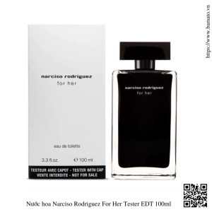 Nuoc hoa Narciso Rodriguez For Her Tester EDT 100ml 1