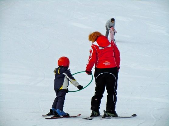 imparare a sciare