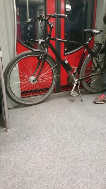 bici in metro