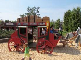 La diligenza a Playmobil Funpark