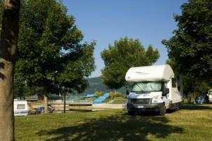 Il campeggio alle terme