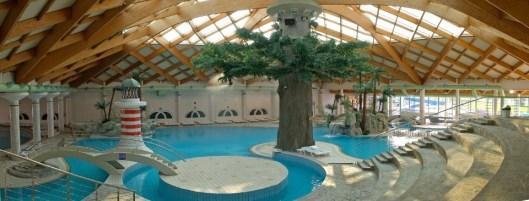 Le piscine al coperto di Catez