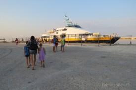 l'imbarco a Marsala