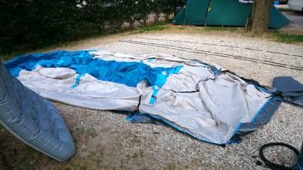 montaggio tenda arpenaz decathlon
