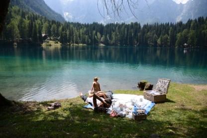 laghi fusine vacanze con bimbi piccoli