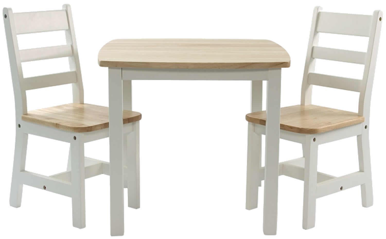 Kinder-Sitzgruppe mit Kindertisch Tisch und 2 Stühlen ...