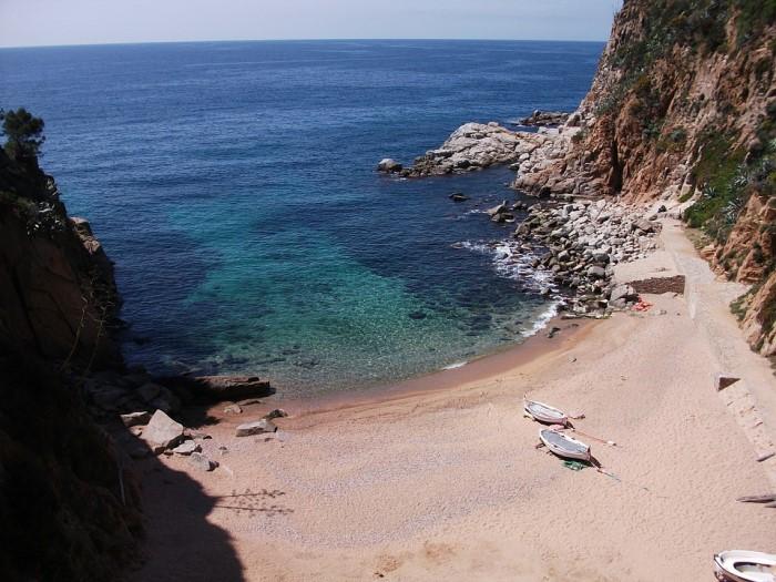 plaja de codolar tossa de mar