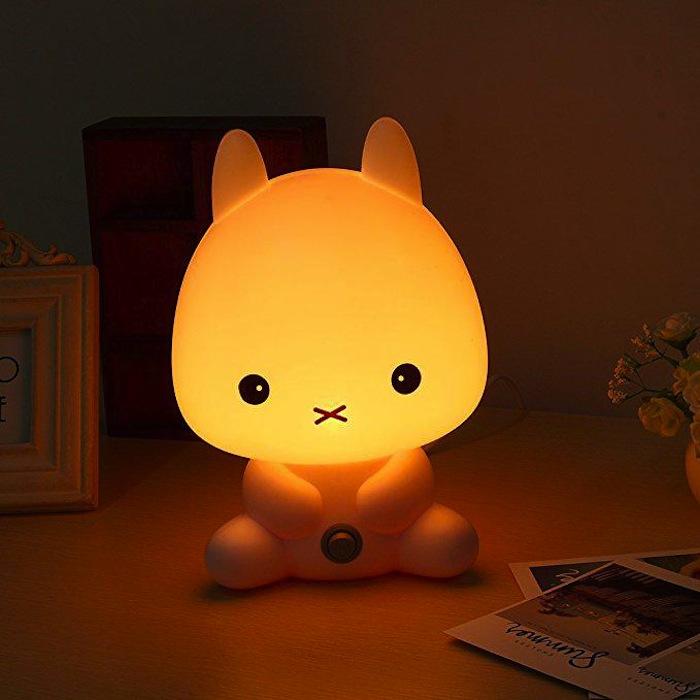 lampade per bambini a forma di animali