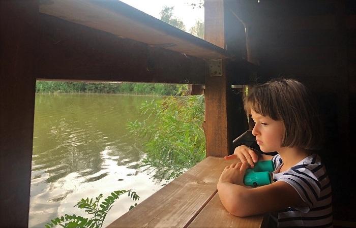Lago di Alviano con i bambini