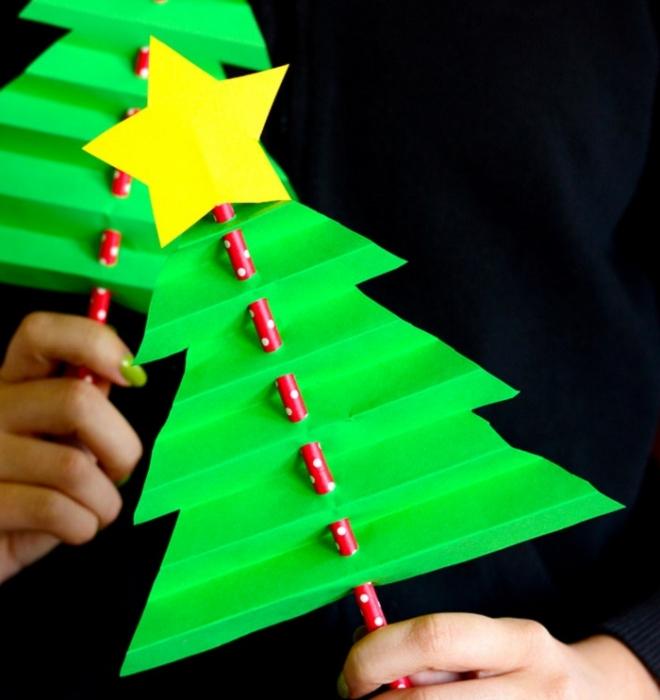 Lavoretti Di Carta Natale Bambini.10 Lavoretti Di Natale Con La Carta Per Creare Un Atmosfera Magica In Casa