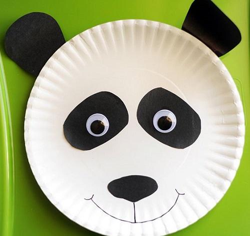 Riciclare piatti di carta, il panda