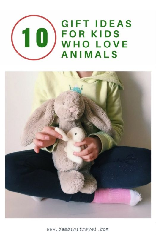 top 10 gift ideas for kids who love animals