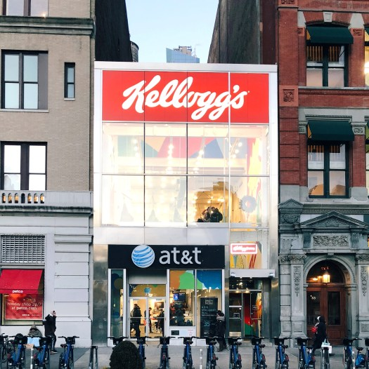 Kellogg's NYC: Kid Friendly and Allergy Friendly Snack Spot