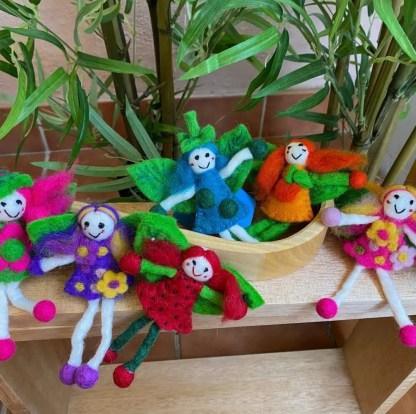 set of seven fairies