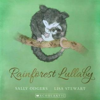 cover of rainforest lullaby book