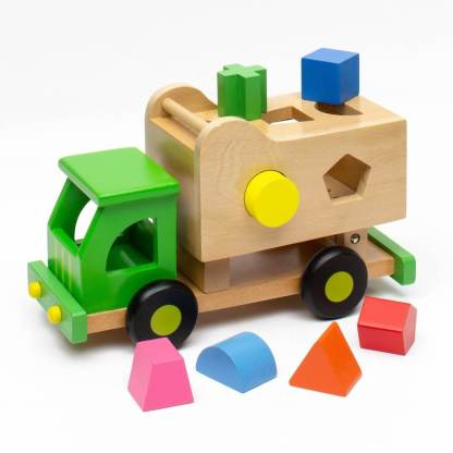 sort and tip garbage truck