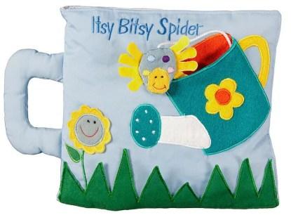 itsy bitsy spider soft book
