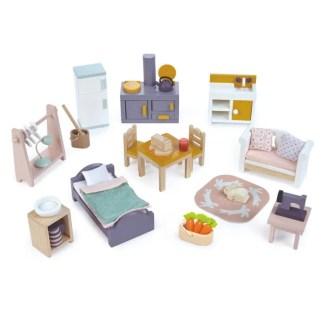 countryside starter set dollhouse furniture