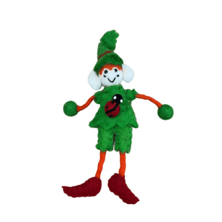 ladybird elf felt