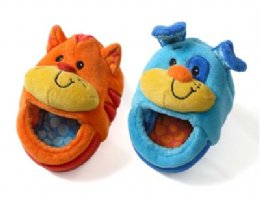 Cat and Dog Foot Rattles