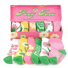 posy toes socks