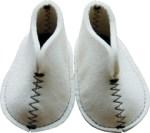 white pia wallenbaby slipper