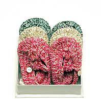 Anne-Claire Petit Cotton Crochet Baby Shoes