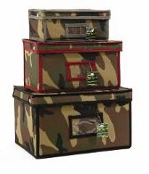 camouflage storage boxes