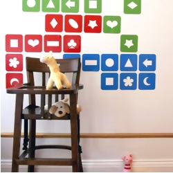Building Block Wall Stickers