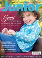 junior magazine cover