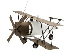 Vintage - Propeller plane pendant