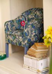 flower waltz arm chair