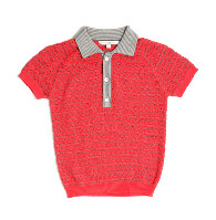 Caramel Baby and Child 2 Tone Polo Shirt