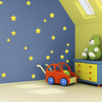 stars nursery wall stickers from wall glamour