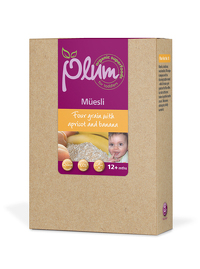Plum Toddler Four Grain Muesli