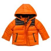 Orange padded jacket by Red Herring