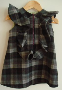 Tartan Dress from Jake & Maya
